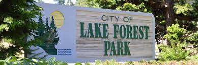 City of Lake Forest Park Sign